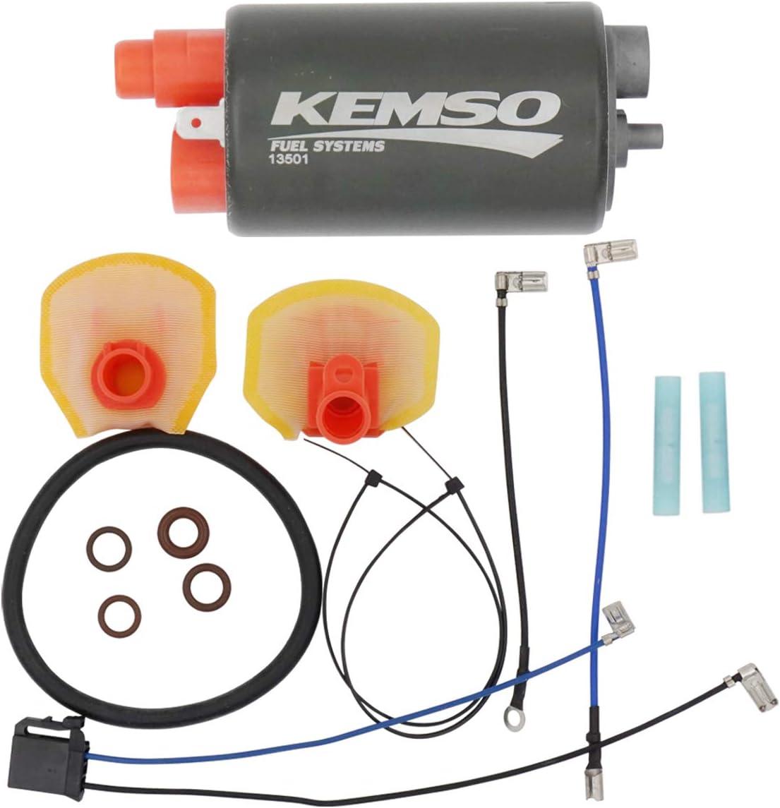 KEMSO Intank Fuel Pump for Popular 2012-2 ZX1400 Kawasaki ZX-14R Super intense SALE Ninja