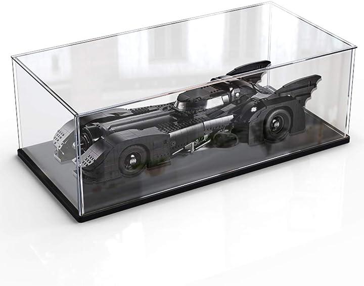 Batmobile 1989 modellino compatibile con lego 76139  teca acrilico vetrina (non incluso set da costruzione) B08R8RSTP1