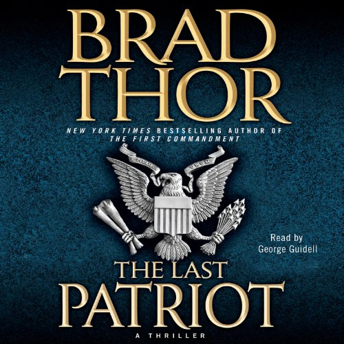 The Last Patriot audiobook cover art
