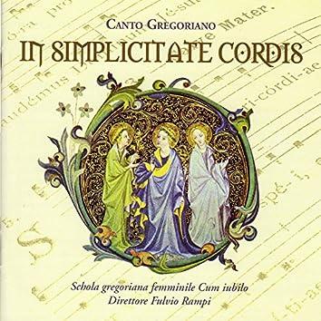 In simplicitate cordis (Canto gregoriano)