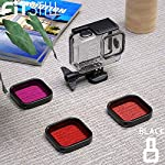 FitStill Double Lock Waterproof Housing for GoPro Hero 2018/7/6/5 Black, Protective 45m Underwater Dive Case Shell with… 11 【LIFE-TIME Warranty】 30-Day money back guarantee, LIFE-TIME Warranty and friendly 7 x 14 hours customer service. Note: Touch screen will be disable while using this Dive housing GoPro HERO 5/6 Black Waterproof Housing Case, Underwater Dive Case Shell with Bracket Accessories