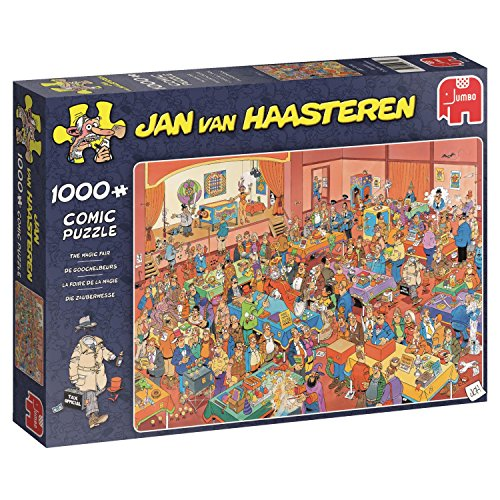 Jumbo 19072 Puzzel Jvh: De Goochelbeurs 1000 Stukjes