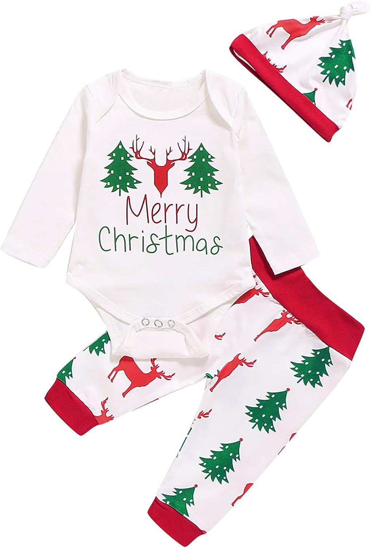 Aslaylme Little Boys Merry Christmas Shirt Baby Boys Xmas Gift Tops