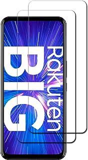 【 2枚セット 】楽天モバイル Rakuten BIG 用の フィルム 楽天モバイル Rakuten BIG 用の ガラスフィルム 旭硝子 強化ガラス 液晶保護 耐衝撃 高透過率 9H硬度 気泡ゼロ