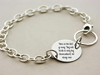 Child loss bracelet, custom engraved