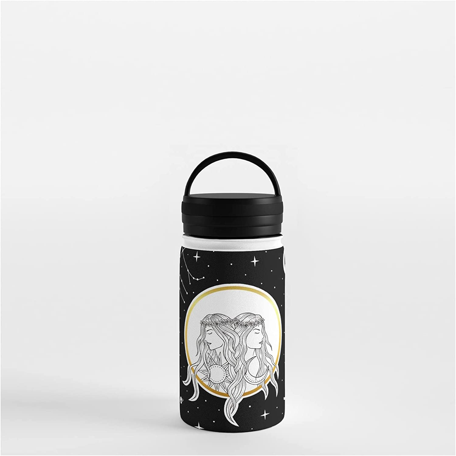 Society6 Gemini Horoscope National uniform free shipping supreme Collection by Water Vickn on Bottle