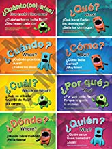 Questions Poster Set of 8 (Spanish)