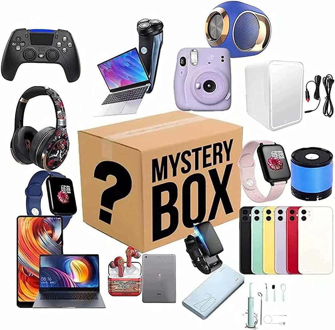 Mystery Box Lucky Boxes Electronic overseas Max 83% OFF Products Contains Mysteri 1