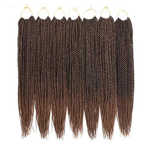 Ailsa 7Packs Crochet Braids Hair Senegalese Twist Hair 30Strands/Pack(18inch,T30)