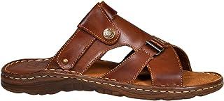 a4089db3 Calzado Genuina Piel Bufalo Zapatos Forma Ortopedica Comodos Sandalias  Hombres Modelo 866