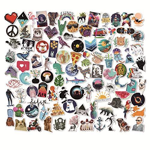 Graffiti Stickers Do Not Repeat (100pcs), Car Stickers, Waterproof Stickers, Fashion Art Stickers, Random Stickers(Style_K)