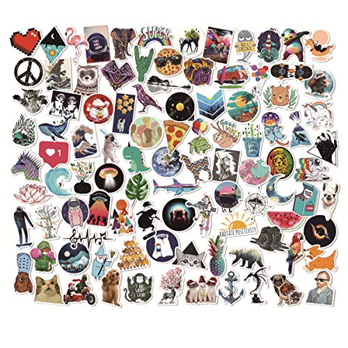 Graffiti Stickers Do Not Repeat (100pcs), Car Stickers, Waterproof Stickers, Fashion Art Stickers, Random Stickers(Style_K)