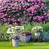 Gartenparadiese 2018 - Broschürenkalender - Wandkalender - mit herausnehmbarem Poster - Format 30 x 30 cm