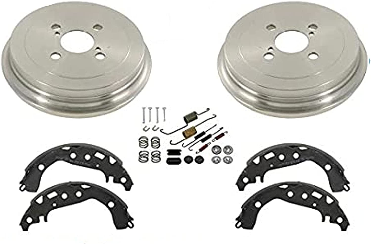 For Toyota Yaris 06-13 New New product!! Rear Shoes W Spasm price and Sp Brake Drums