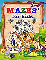 Mazes for kids: Amazing Activity book for Children and Fun with Challenging Mazes!