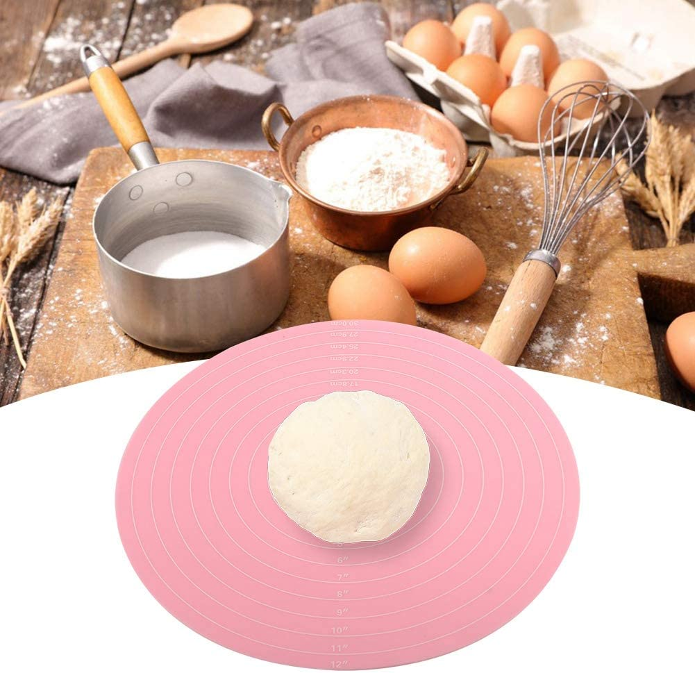 Durable Pink Silicone Mat Baking Pizz 25% OFF for All stores are sold Non-Stick