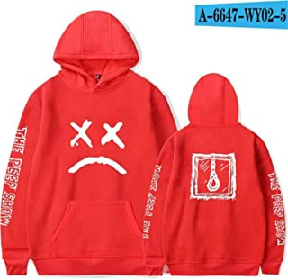 Kinggo Design Mans with Hood Bag Red Dead Redemption 2 Logo Funny Zipper Sweater