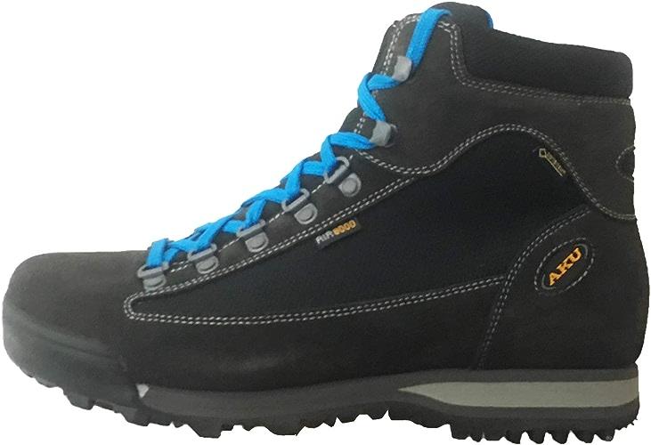 AKU - Micro GTX Hommes Chaussures de randonnée (Noir)