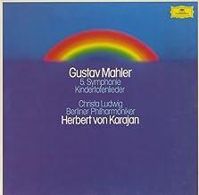 マーラー Mahler 交響曲 5番 亡き子をしのぶ歌 Kindertotenlieder DGG 2707 081 DE Original
