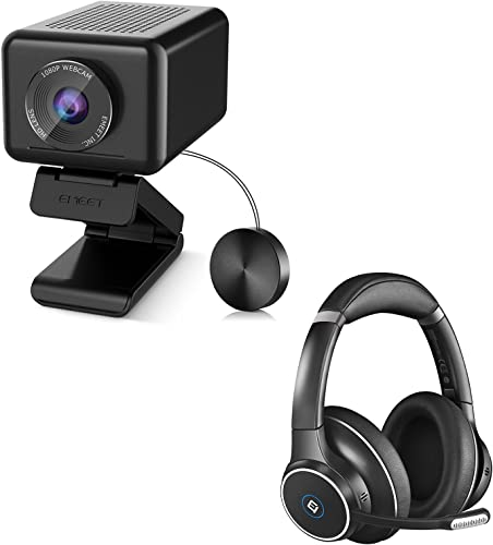 popular Conference Room Camera System with Bluetooth Headset, AI Tracking& Zooming eMeet Jupiter 1080P Webcam, ENC Noise discount Cancelling Headphones with 4 Mics, All-in-One 1 Speaker& 4 2021 Mics Enhanced USB Webcam online sale