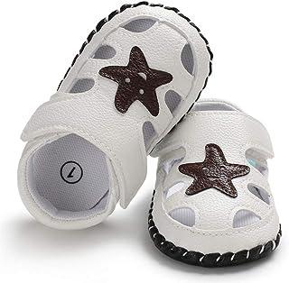 Sandalias de Las Niñas,Bebé Niños Unisexo Verano Suave Antideslizante Dedo del Pie Cerrado Zapatos