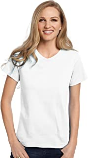 Relaxed Fit Women's ComfortSoft V-Neck T-Shirt