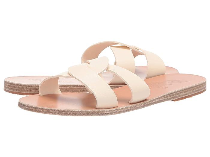 Ancient Greek Sandals  Desmos (Off-White) Womens Sandals