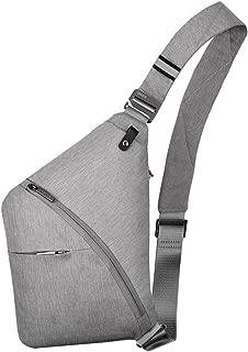 Anti-Theft Waterproof Shoulder Backpack Sling Chest Crossbody Bag Cover Pack Rucksack Bicycle Sport