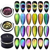 BORN PRETTY 9D Galaxy Cat Eye Nail Gel Chameleon Magnetic Soak Off UV/LED Nail Varnish 5ml Manicure Gel Lacquer 6 Boxes
