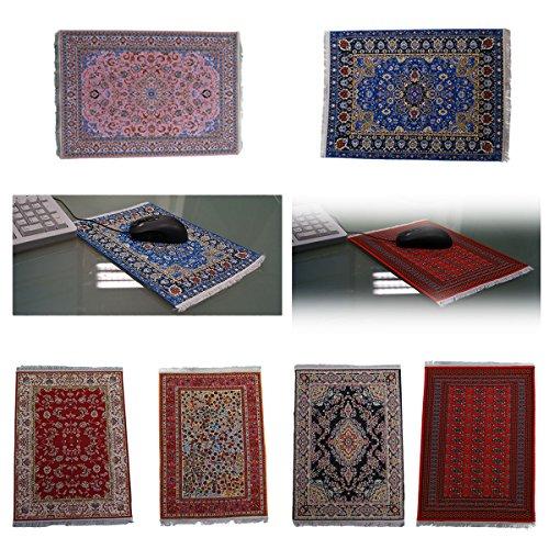 Mousepad Carpet blanket rug Mauspad Orientalisch Teppich Mousepadteppich Computer Schreibtisch in verschiedenen Mustern und Farben