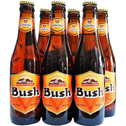 Bush Amber 12%vol, Premium Belgisches Bier - 6x330ml