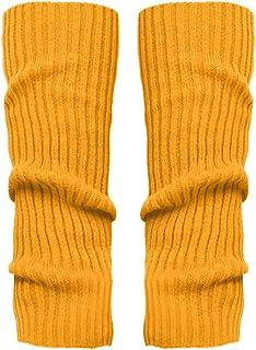Mujer Invierno Divertidos Termicos Algodon 1Pair Moda Damas Y Niñas Moda Calentadores De Piernas Aptos Para El Deporte