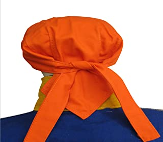 SRYSHKE Welding Cap Welding Cart Welding Positioner Argon Bottle for Welding Welding Coupons Welders Cap Flame-Resistant Welding BeanieWelding Caps for Welders Pure Cotton (Orange)