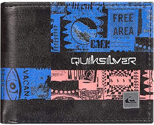 Quiksilver Herren Freshness II Wallet Geldbörse, schwarz, Medium