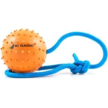 The Nero Ball Classic TM - K-9 Ball On a Rope Reward and Exercise Toy - Police K-9 - Schutzhund
