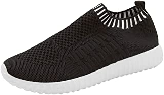 〓VigorY〓Women's Lightweight Breathable Shoes Athletic Walking Shoes Casual Mesh-Comfy Work Sneakers Running Shoes