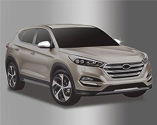Para Hyundai Tucson 2015 + Chrome cubierta del espejo retrovisor Set