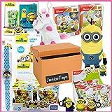 dropo Restpostenpaket Trendartikel und Neuheiten von JuniorToys (Minions Spielwaren und Lizenzartikel)