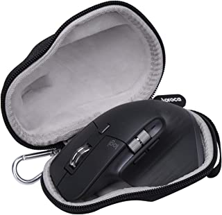 Aproca Duro Viajes Funda Bolso Caso para Logitech MX Master/MX Master 2S / MX Master 3 Amazon exlcusive Ratón inalámbrico (Black-Simplified Case)