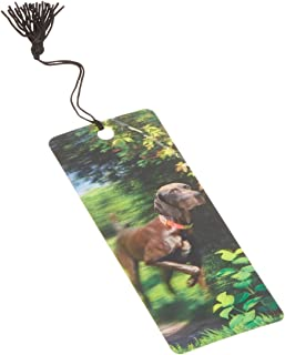 Dimension 9 3D Lenticular Bookmark with Tassel, German Shorthaired Pointer, Pet Breed Series (LBM045)