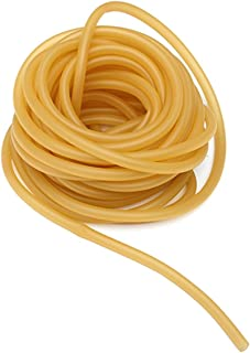 3M Natural Latex Rubber Band Tube Tubing, Slingshot Hose for Outdoor Hunting Catapult