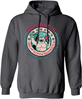 New Graphic Tee Rudolph Christmas Shirt Bumbles Ice Graphic Men's Hoodie Hooded Sweatshirt