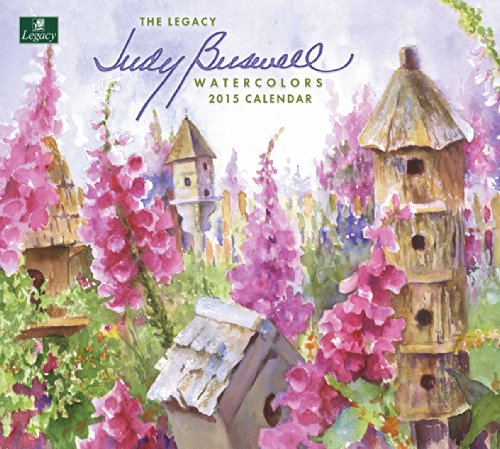 Legacy Publishing Group, Inc. 2015 Wall Calendar, Watercolors by Judy Buswell (WCA13766)