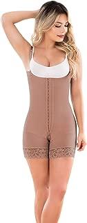 059 Fajas Colombianas Reductoras y Moldeadoras High Compression Garments Bodysuit Strapless Free Back