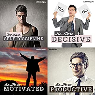 Superior Self-Control Subliminal Messages Bundle audiobook cover art