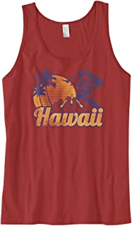 a6384b4cf53a7 Cybertela Men s Hawaii Hawaiian Hi Sunset Palm Tree Tank Top