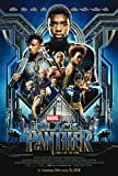 Black Panther Movie Poster - Size 24' X 36' - This is a Certified PosterOffice Print with Holographic Sequential Numbering for Authenticity.