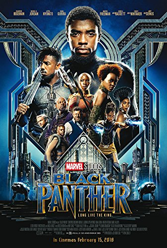 """Black Panther Movie Poster - Size 24"""" X 36"""" - This is a Certified PosterOffice Print with Holographic Sequential Numbering for Authenticity."""
