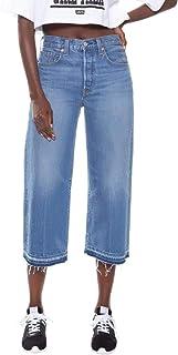 Calça Jeans Levis High Water Wide Leg Feminino Média