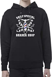 Daily Special Barber Shop_BEN6398 Hoodie For Women and Men Unisex Capucha Suéter Sweater Sweatshirt and Regular Fit - S